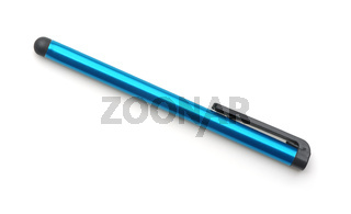 Top view of capacitive touchscreen stylus