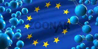 European Union H2 Hydrogen Molecule