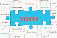 Vision concept word cloud