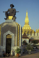 LAO VIENTIANE WAT PHA THAT LUANG TEMPLE
