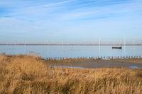 Dutch landscape polder Eemmeer