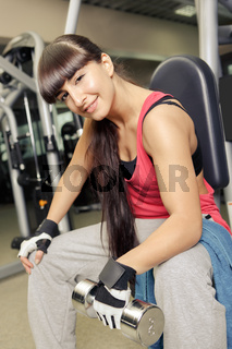 gym room girl
