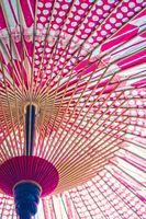 Image of red Japan Japanese umbrella
