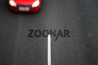 Background of black asphalt of street