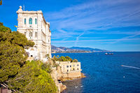 The Oceanographic Museum of marine sciences in Monaco-Ville