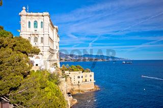 The Oceanographic Museum of marine sciences in Monaco-Ville