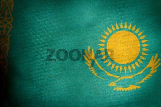 Central part flag of Kazakhstan