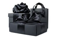 Shopping black friday bags
