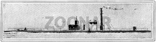 USS Nausett (1865), a single-turreted, twin-screw monitor, was built by Donald McKay, South Boston.