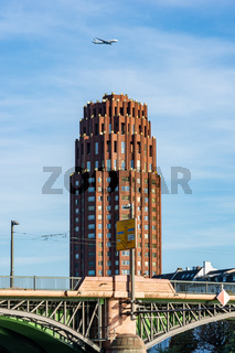 Hotel tower in Frankfurt
