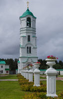 The Svirsky monastery in the village of Old Sloboda - Russia