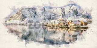 Sakrisoy Village Lofoten