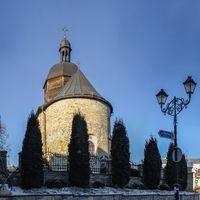Trinity Church in Kamianets-Podilskyi, Ukraine