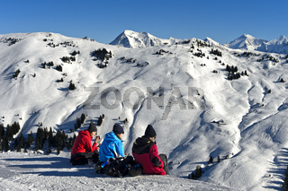 Skihänge am Saanerslochgrat