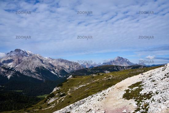Dolomites in autumn