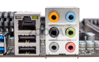 Electronic collection - Connector of computer motherboard