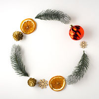 Christmas wreath.