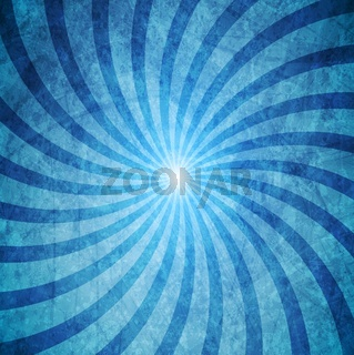 Blue grunge swirl background
