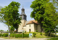 Village church Vehlefanz, Brandenburg, Germany