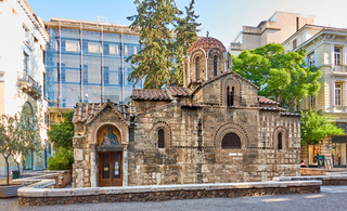 hurch of Panaghia Kapnikarea in Athens