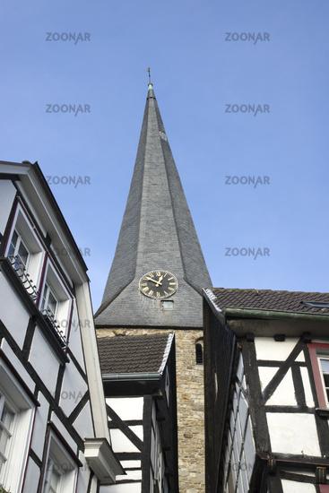 Steinhagen and Church Sankt Georg in Hattingen, Ge
