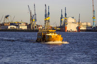 Passenger ferry Hamburg Altenwerder