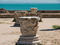 ruins in tunis