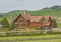 Farmhouse, country house near Appenzell, Switzerland