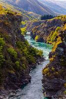 Gorge and river Kawarau