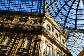 Galleria Vittorio Emanuele II in central of Milan