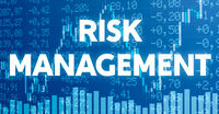 Conceptual image with financial charts and graphs - Risk Management