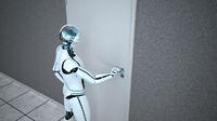 Humanoid Robot Door