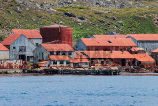 Walfangstation Leith Harbour, Südgeorgien