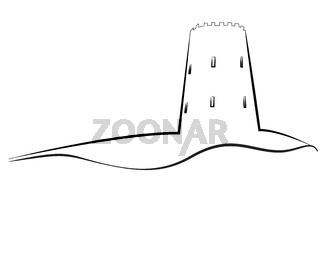 Tower outline logo