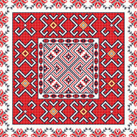 Romanian traditional pattern 101.eps