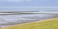 Groin at the North sea coast