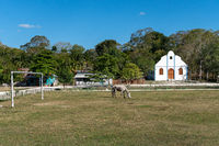 Impressions of the small Guatemalan village of Uaxactún in the Mayan jungle