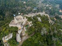 Moorish Castle in Sintra Portugal