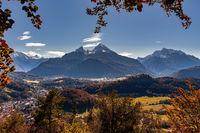 Watzmann in autumn