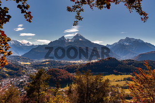 Watzmann im Herbst