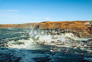 Urridafoss waterfall, Iceland