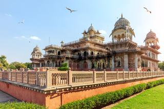 Albert Hall Museum in Jaipur, Rajasthan, India