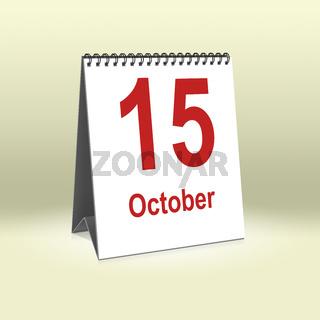 October 15th   15.Oktober