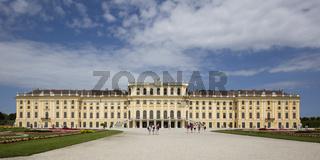 Schloss Schoenbrunn, Wien, Oesterreich, Europa