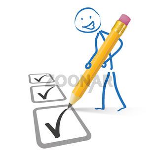 Stickman Pencil Checklist
