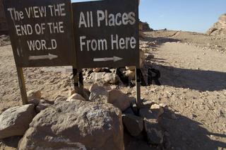 Hiking Trail, Petra, Jordan
