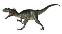 Megalosaurus dinosaur roaring - 3D render