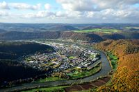Aerial view of Bestenheid, Wertheim