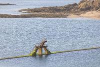 Sea Pool Saint Malo Brittany