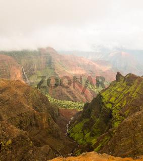 Waimea Canyon Kauai island Hawaii